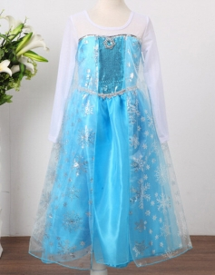 Children Elsa Costume Sale By One Lot with Five Sizes