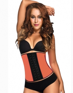 Women's Workout Waist Cincher Corset with Hooks