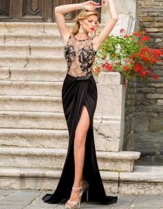 Elegant Long Mermaid Evening Dress
