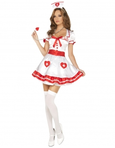 Cute Girl Nurse Costume
