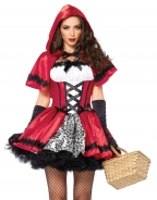 Sexy Little Red Ridding Hood Costume