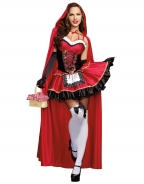 Deluxe Little Red Ridding Hood Costume