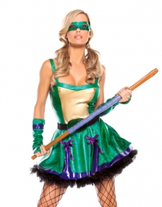 Purple Ninja Turtle Costume