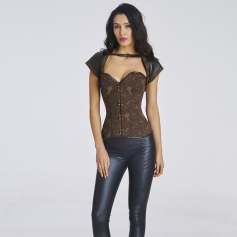 Gothic Ladies Burlesque Corset