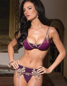 The King's Mistress Sexy 3PC Bra Set